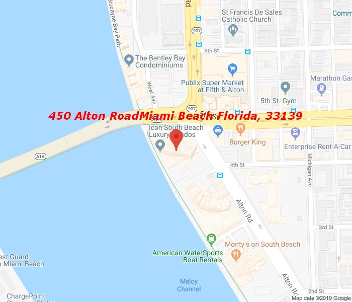 450 Alton Rd #2605, Miami Beach, Florida, 33139